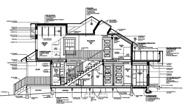 Architectural Working Drawing The Cerasa Group Ltd